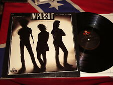 IN PURSUIT - standing in your shadow  LP AOR 1986   MTM RECORDS ST-71057