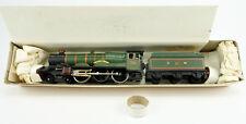 """TRI-ANG WRENN OO GAUGE W2222 DIE CAST """"DEVIZES CASTLE"""" 4-6-0 ENGINE & TENDER"""