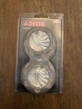 New Delta Clear Hot Cold Faucet Handles Knob RP23498 Kitchen Lavatory Tub Shower
