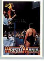 1990 Classic WWF WWE History of Wrestlemania #29 Macho Man  Andre the Giant