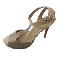 48a46f46280e CATO Womens Heels SIZE 10M Brown Beige Tan Cute Shoes