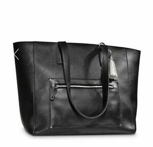 Bath & Body Works VIP Black Friday Exclusive Large BLACK Tote Bag Purse Only NWT