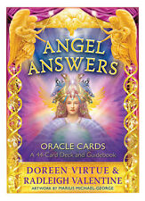 Angel Answers Oracle Cards a 44-card Deck and Guidebook 9781401945909 Virtue