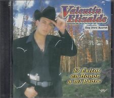 Valentin Elizalde 17 Exitos En Honor A Mi Padre CD New Nuevo Sealed