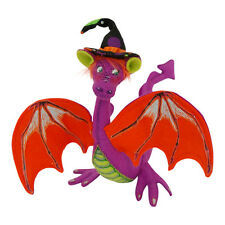 "LG Halloween DARLING DRAGON 10"" Poseable WIZARD Warlock Decoration Annalee 2014"