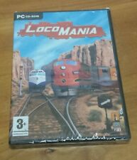 LocoMania (PC CD-ROM) 2006 trains railroad strategy game Lighthouse RARE OOP NEW
