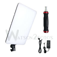 Pro Bi-color  Light Panel LED Photography Studio Video Handle Photo Lighting Kit
