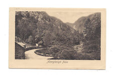 Vintage embossed postcard Aberglaslyn Pass, Wales. F.Frith & Co. pmk 1908