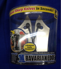 Bavarian Edge Knife Sharpener, Sharp Knives in Seconds, Free Priority Shipping