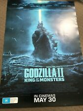 Godzilla: King of the Monsters Movie Poster - Double Sided Advance One Sheet