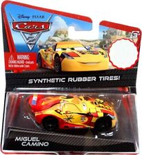 Disney Cars Cars 2 Synthetic Rubber Tires Miguel Camino Exclusive Diecast Car