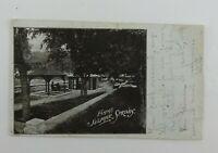 Vintage 1909 Photo Postcard Famous Sulphur Springs