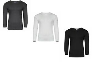 Mens Thermal Long Johns Top Long Sleeve T-Shirt Size S,M,L,XL,XXL Supper Thermal