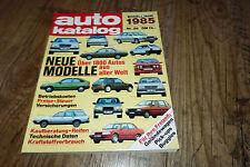Auto Katalog 1985