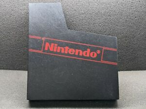 Genuine/Official Nintendo NES Empty Sleeve Dust Cover - Very Good Condition
