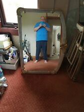 Large gold mirror antique style chabby chic