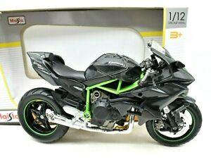 Models motorcycle Gp Kawasaki Ninja H2R Maisto Scale 1:12 Motogp diecast Motor