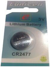 CR 2477 3V Coin Cell Batteries CR2477 BR2477 KCR2477 EUNICELL