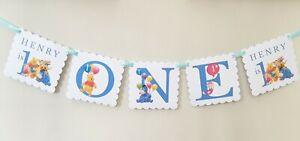 Personalised Winnie Pooh Banner,ANY AGE Winnie Pooh Party,Winnie Pooh Buntiing