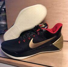 7b58af25e6fa Nike Kobe IX 9 Low ID Gold Black Red Glow In The Dark Rare Elite 1