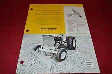 Allis Chalmers Dozer & Grader Blade For Lawn Tractor Dealer's Brochure YABE7