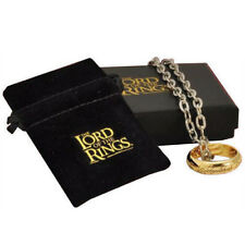 Official The Lord of the Rings One Ring and Chain (Costume) New