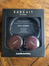 AUDIO-TECHNICA Monitor Headphones ATH-ESW9—excellent condition