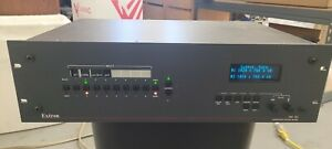 Extron ISM 182 Integration Scaling Matrix Switcher, power tested, working unit