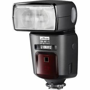 Brand New Metz Mecablitz 64 AF-1 Digital Flash Light Unit Panasonic Olympus TTL