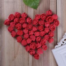 200Pcs Fake Artificial  Foam Rose Flower Heads Blossom Party Home Room Decor LOT