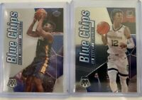 2019-20 Mosaic Zion Williamson & Ja Morant Blue Chips Insert Rookie RC 🔥 PSA?