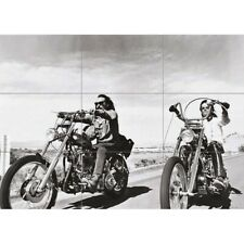 Easy Rider Chopper Motorcycle Giant Wall Mural Art Poster Print 50x35 Inches