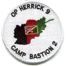 KANDAHAR WHACKER BRITISH OP HERRICK 9 SAS CAMP BASTION UK FLAG vel©®Ø INSIGNIA