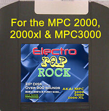 Akai mpc 3000 LE 2000 XL zip disk vol. 4 ELECTRO rap Rock Techno mpc2000 sounds