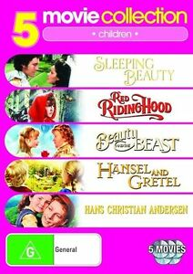 Fairy Tales Collection - Sleeping Beauty / Red Riding Hood / Beauty And The...