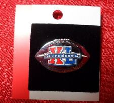 NFL Super Bowl 40 NFL Logo Pin Pittsburgh Steelers Vs. Seattle Seahawks Football