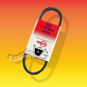 Premium V-Belt 3L200, 3/8 x 20 Synthetic Rubber Heat and Oil Resistant # 5003