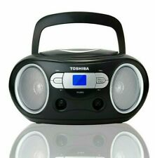 Toshiba Ty-Crs9 Portable Cd Player Boombox with Am/Fm Tuner & Aux Input
