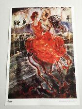 Cuban painting collection.Out of print.1941 Carlos Enriquez.Rapto.Room Decor