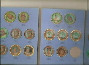 Album of 24 1971 Topps coins, mostly HOFers