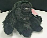 "Gorilla Plush Soft Cuddly Toy 7"" / 18cm by Playmaker Toys UK"