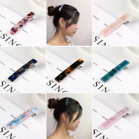 Accessories Women Fashion Acrylic Hair Clips Girls Hairgrips  Hairpin Barrettes