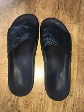 Armani Sliders Navy flip flops size 10 100% Genuine VGC