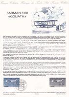 Document philatélique 05Bis-84 1er jour 1984 Avion Farman F.60 Goliath