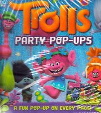 Dreamworls Trolls Party Pop-Ups by Igloo books NEW (Hardback Pop-up Book 2017)