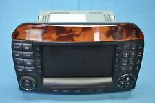 2005 MERCEDES-BENZ S500 W220 #28 COMMAND NAVIGATION RADIO RECEIVER DISPLAY OEM