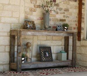 NATURAL 60'' SOFA TABLE