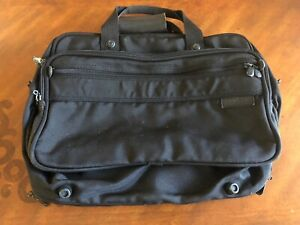 """Briggs & Riley"""" Baseline Weekender/computer  Carry-On Tote Overnight Bag"""