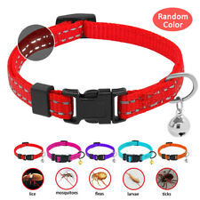 Nylon Riflettente Collare Antiparassitario ANTIPULCI per cane cani Gatto 19-39CM