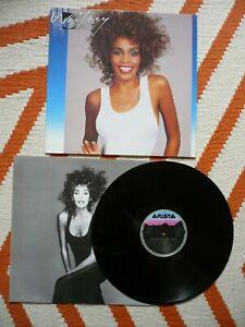 Whitney Houston Whitney Self Titled Vinyl 1987 Arista 1st Press A1/B1 LP